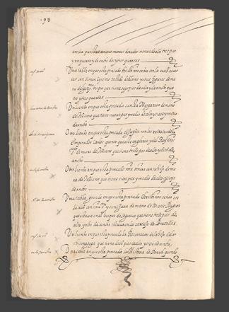 Entrada primera 1571 - 1574