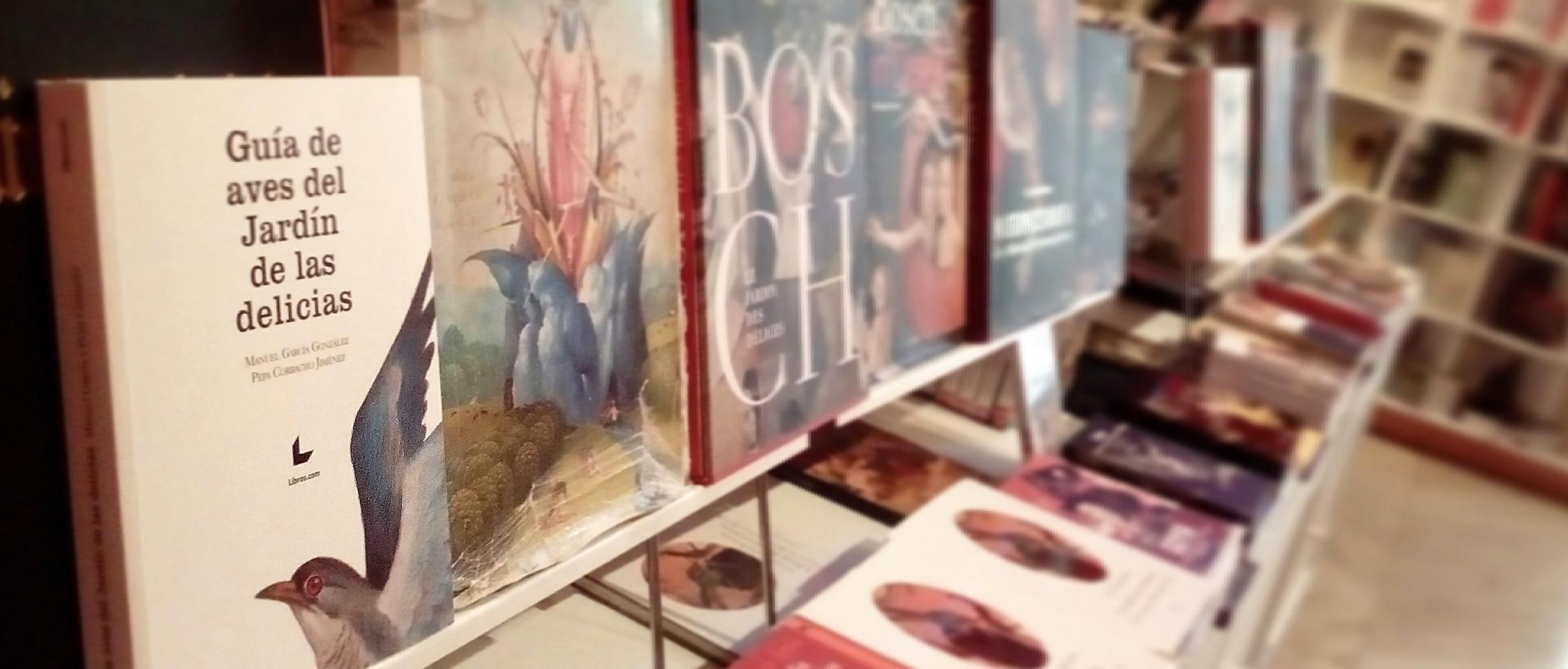 La Guía en la librería del Prado